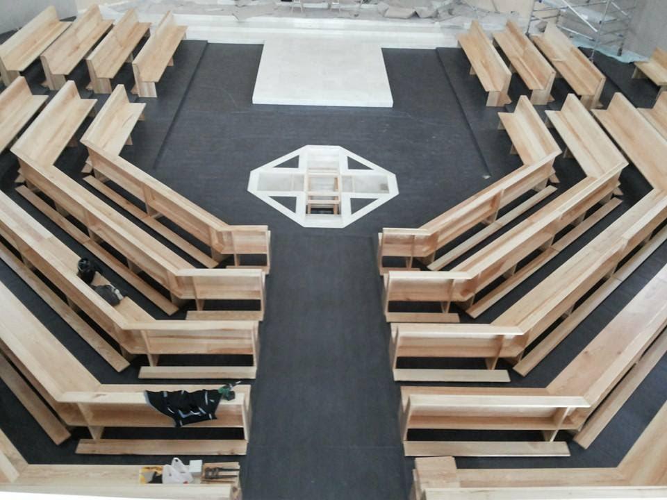 Projeto de Carpintaria para Igreja